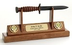 Army  M3 Trench Knife Letter Opener Display