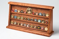 Large Cherry Challenge Coin Displays