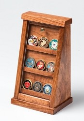 Small Cherry Challenge Coin Displays