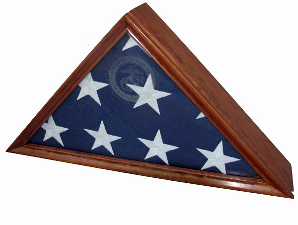 Cherry Flag Display Case for a  4' x 6' Flag