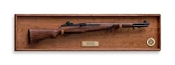 M1 Garand and Hardwood Display Wall Plaque