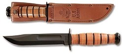 Full-size US ARMY KA-BAR, Straight Edge