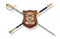 Cherry Large Sword Display Shield