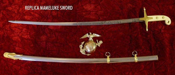 Replica United States Marine Officer Mameluke Sword