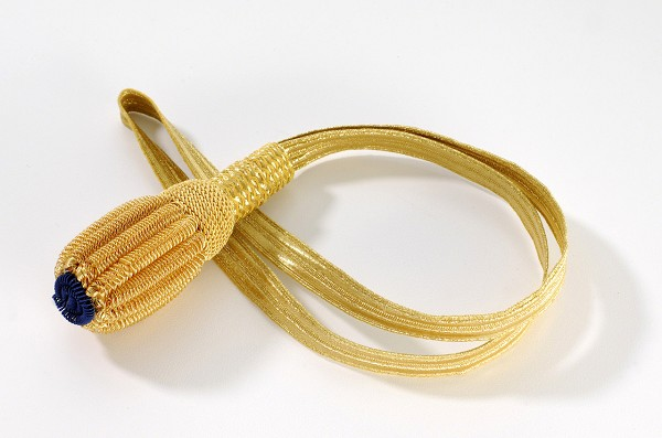 Gold Bullion Navy Sword Knot