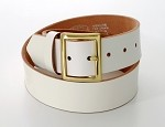 Garrison Belt, White